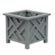 Slate Chippendale Planter, One Size