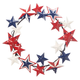 Metal American Barn Star Wreath by Fox River Creations™, One Size