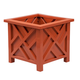 Terra Cotta Chippendale Planter, One Size