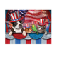 Pets Love America Puzzle 1000 Pieces, One Size