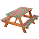 Watermelon Deluxe Picnic Table Cover, One Size