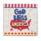 God Bless America Visor Clip, One Size