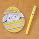 Egg Shaped Notepad with Pen