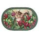 Kitten in Flowers Braided Rug by OakRidge™, One Size