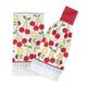 Summer Cherries Kitchen Towel Set, One Size