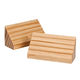 Wood Playing Card Holders Set of 2, One Size