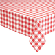 100% Cotton Gingham Tablecloth, One Size