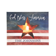 Personalized Flag Lighted Canvas by Northwoods Illuminations, One Size