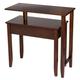 Two-Tier Swivel Table by OakRidge™ XL, One Size