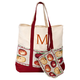 Personalized Harvest Tapestry Tote with Wristlet, One Size