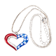 Patriotic Necklace, One Size