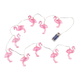 Flamingo String Lights, 10 Count, One Size