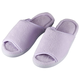Open-Toe Terry Slipper, One Size