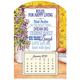 Mini Magnetic Rules Happy Living Calendar, One Size
