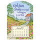 Mini Magnetic Friends in our Paths Calendar, One Size