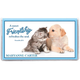 Personalized 2 Yr Planner Furry Friends, One Size
