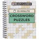 Brain Games 10-Minute Crossword Puzzles, One Size