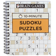 Brain Games 10-Minute Sudoku Puzzles, One Size