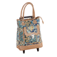 Quilted Rolling Tote, One Size
