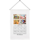 Personalized Birds of the Season Calendar Towel