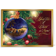 Personalized Nativity Ornament Christmas Card Set of 20