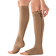 Silver Steps™ EZ Zip Open Toe Compression Socks, 20-30 mmHg