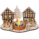 Christmas Candle Holder, One Size