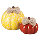 Small and Medium Ceramic Decorative Pumpkins, One Size
