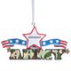 Personalized Resin Military Ornament, One Size