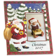 Personalized Santa's Surprise Christmas Frame Vertical, One Size