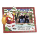 Personalized Santa's Surprise Christmas Frame Horizontal, One Size