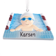 Personalized Swimmer Ornament, One Size