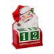 Santa Christmas Countdown Calendar, One Size