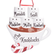 Personalized Hot Chocolate Family Ornament, One Size