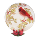 Cardinal Plate and Salt and Pepper Shaker, One Size