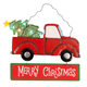 Lighted Merry Christmas Truck Sign by Fox River Creations™, One Size