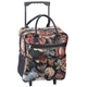 Rose Tapestry Rolling Tote, One Size
