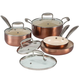8 Piece Copper Cookware Set by The Home Marketplace, One Size