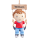 Personalized Kid on Swing Ornament, One Size