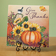 Give Thanks Plaque 12 x 12