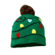 Lighted Knit Christmas Hat, One Size