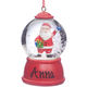 Personalized Santa Waterglobe Ornament, One Size