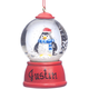 Personalized Penguin Waterglobe Ornament, One Size