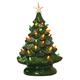 Green Ceramic Christmas Tree, One Size