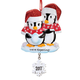 Personalized We're Expecting Penguin Ornament, One Size