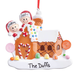 Personalized Gingerbread Family Ornament, One Size