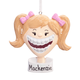 Personalized Braces Ornament, One Size