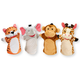 Melissa & Doug Zoo Friends Hand Puppets, Set of 4, One Size