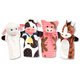 Melissa & Doug Farm Friends Hand Puppets, Set of 4, One Size