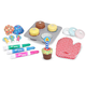 Melissa & Doug Wooden Bake & Decorate Cupcake Set, One Size